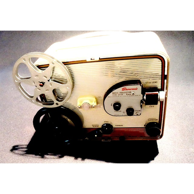 Eastman Kodak Company Circa 1950s, 8mm Movie Projector. Gorgeous for Home or Office Display. For Sale - Image 4 of 7