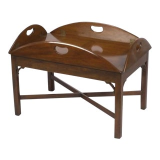 1980s Traditional Kittinger Butler's Tray Table For Sale