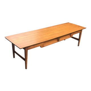Mid Century Modern Heritage Perennian Collection Coffee Table For Sale