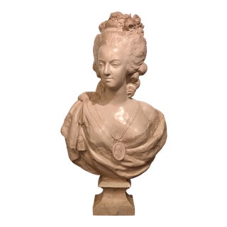 Bust of Marie Antoinette For Sale