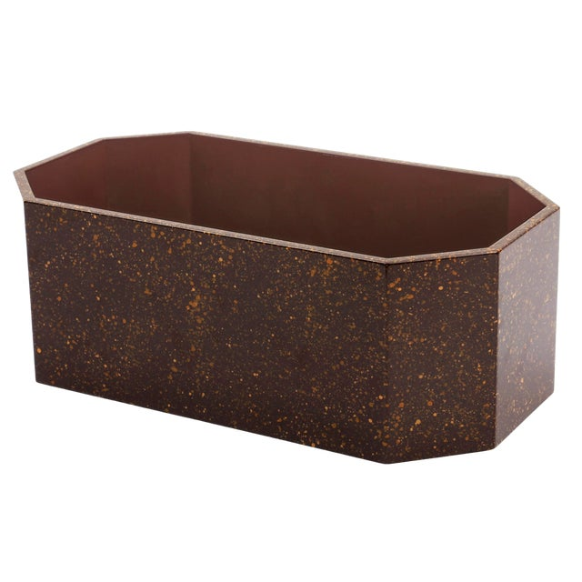 Not Yet Made - Made To Order Miles Redd Collection Octagonal Napkin Box in Porphyry For Sale - Image 5 of 5