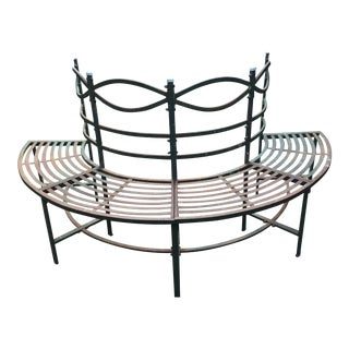 Round French Tuileries Bench