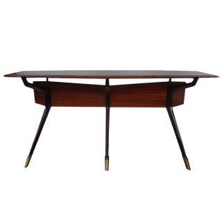 1950s Italian Mid Century Modern Console Table Attributed to Ico Parisi For Sale