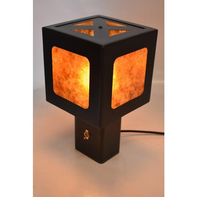 Oblik Studio Inc Cube Lamp For Sale - Image 4 of 5