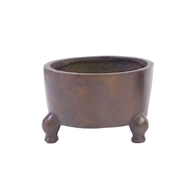 Chinese Bronze Metal Incense Burner - Image 1 of 4