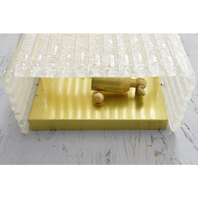 Mazzega Rectangular Sconce For Sale - Image 9 of 11