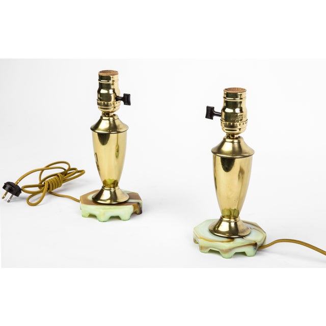 Art Deco Up-Lights - A Pair - Image 2 of 5