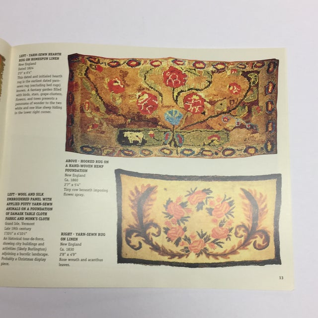 Light From the Past Early American Rugs Book For Sale In New York - Image 6 of 10
