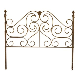 King Size Decorator Metal Bed Headboard For Sale