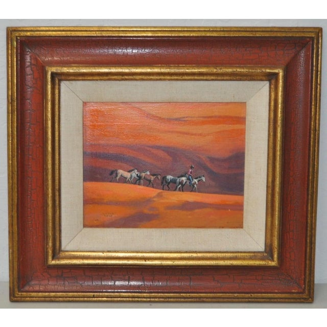 """Ted Littlefield """"Navajo Drive"""" Acrylic Painting Small but mighty painting by Ted Littlefield. Created with acrylic paint..."""