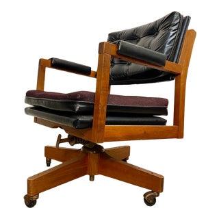 Eck-Adams Danish Mid Century Modern Executive Desk Chair For Sale