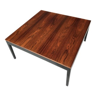 George Nelson Herman Miller Rosewood Side Coffee Table For Sale
