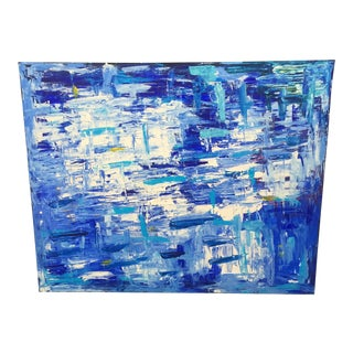 Extra Large Blue Abstract Artwork For Sale