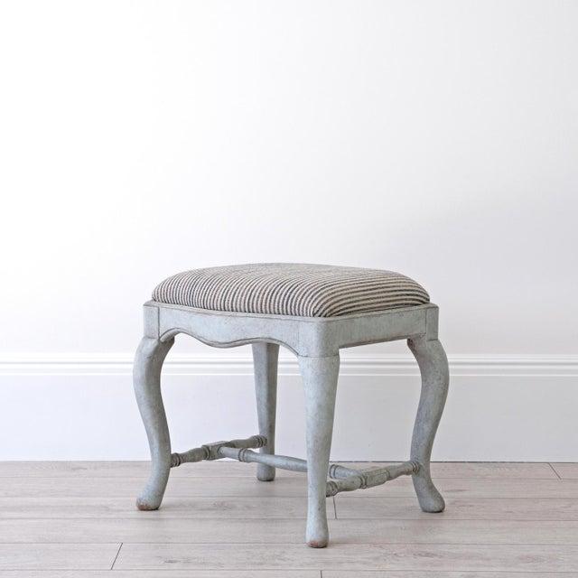 Georgia Lacey Bespoke Annika Swedish Baroque Stool For Sale - Image 4 of 4