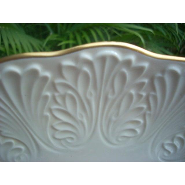 Traditional Lenox Vintage White Platter For Sale - Image 3 of 4