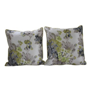 Designers Guild Rosmond Pattered Pillows - a Pair For Sale