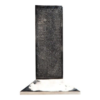Modern Moroccan Silver Table Lamp For Sale
