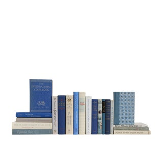 The Vintage Blue & White Kitchen : Set of Twenty Decorative Books