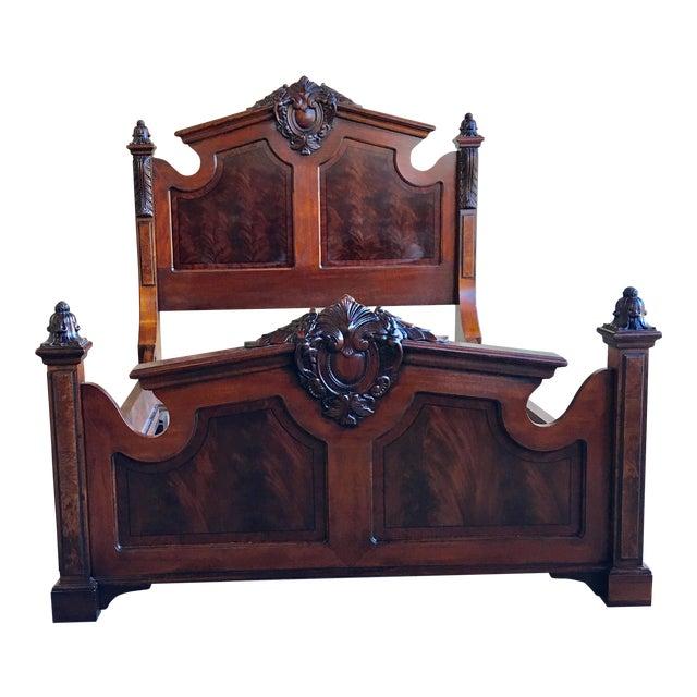 Henredon Historic Natchez Collection Queen Size Bedframe For Sale