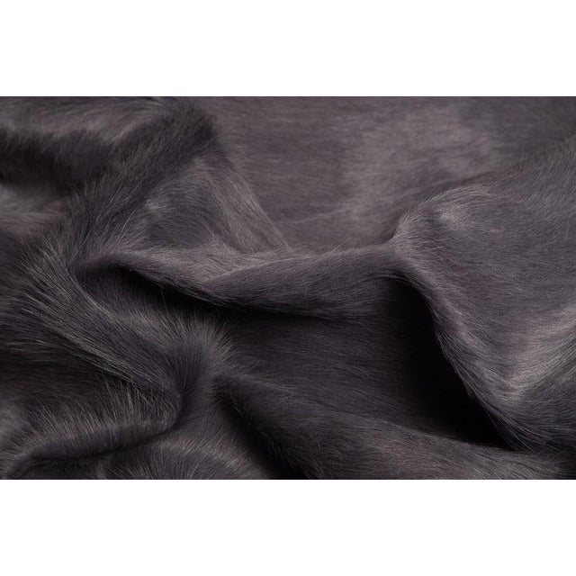 Gray Cowhide Rug All of our Hair Cow Hides are full hides and measure approximately 7'w x 8'l. They are of the highest...