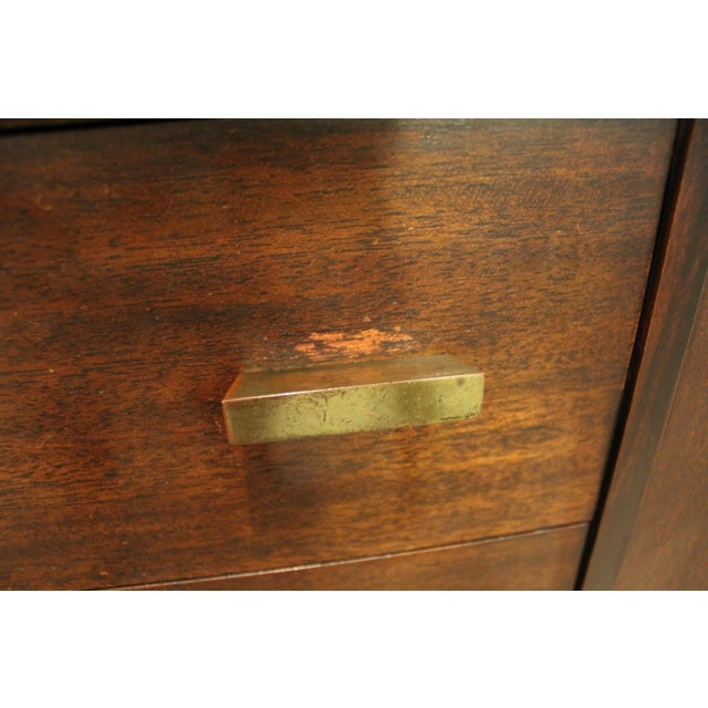 James Mont Mid-Century Asian Modern Ming-Style Mahogany Credenza For Sale - Image 10 of 11