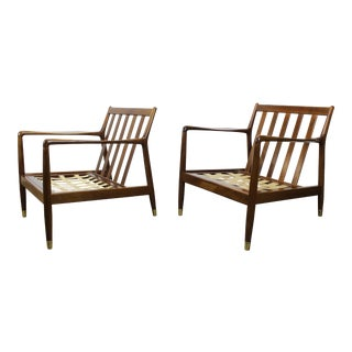 DUX Mid-Century Modern Lounge Chairs - a Pair
