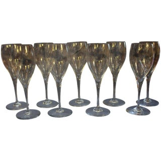 Baccarat St. Remy Red Wine Glasses - Set of 9