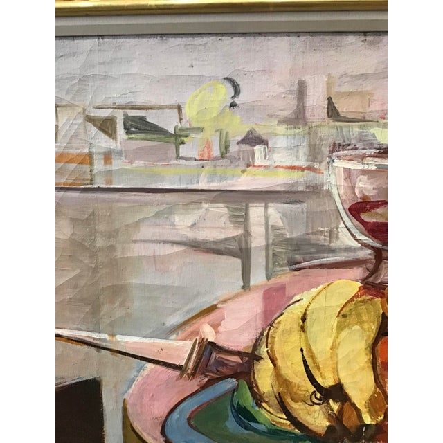 Mid-Century Still Life Painting For Sale - Image 9 of 12