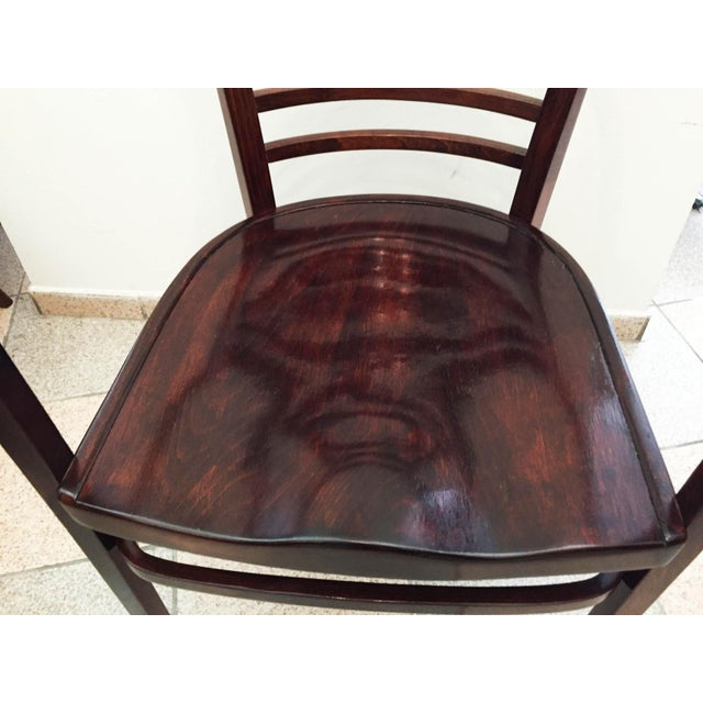 Traditional Viennese Secession bentwood armchair, 1900s For Sale - Image 3 of 8