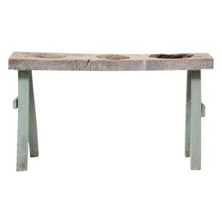 Primitive Tribal Dough Table
