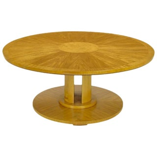 Charles Pfister for Baker Primavera Mahogany Coffee Table For Sale