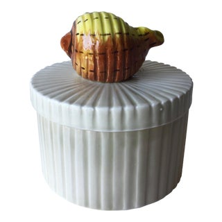 Fitz & Floyd Shell Porcelain Box