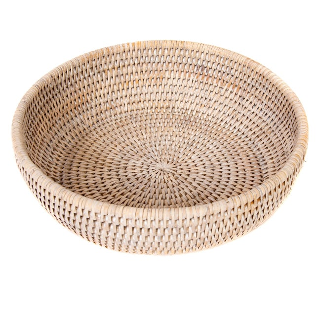 Artifatcs Rattan Bowl For Sale In Dallas - Image 6 of 6