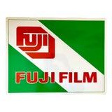 Image of Vintage Fujifilm Metal Sign For Sale