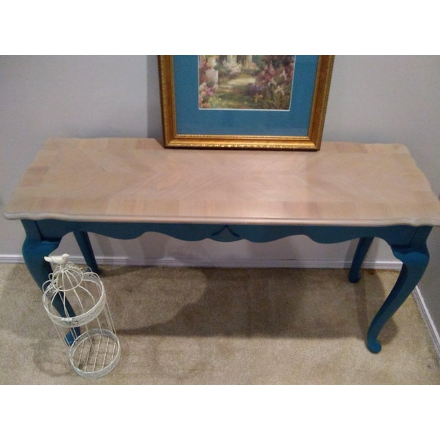 Victorian Style Console or Sofa Table For Sale - Image 4 of 6
