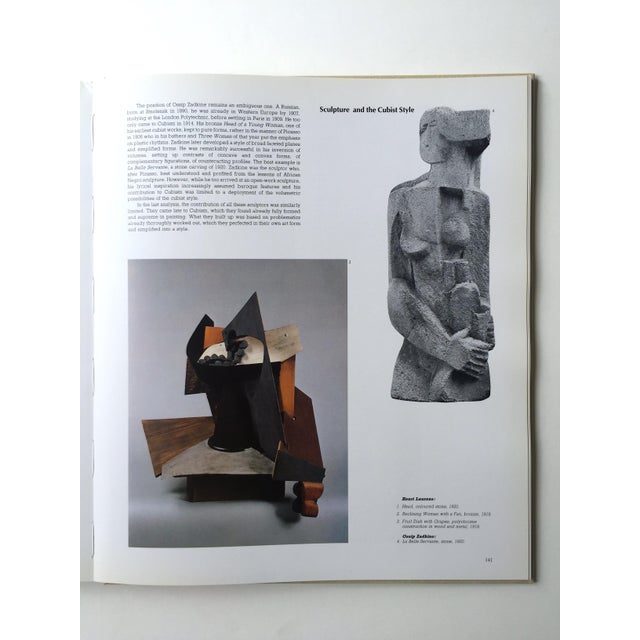 """Paper """" Cubists & Cubism """" Rare Vintage 1982 1st Edtn Large Iconic Volume Collector's Modern Art Book For Sale - Image 7 of 13"""