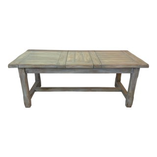 Christian Robert Farm Table With Two Leaves For Sale