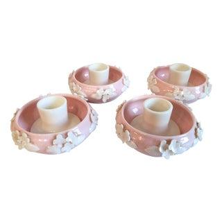 Vintage Norcrest Japan Candlestick Holders - S/4
