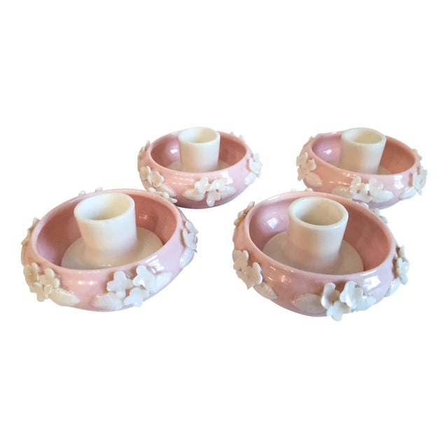 Vintage Norcrest Japan Candlestick Holders - S/4 For Sale
