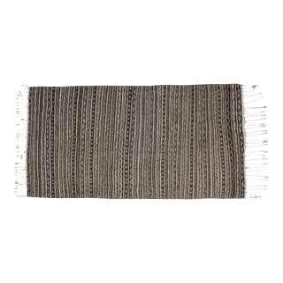 Moroccan Striped Berber Blanket For Sale