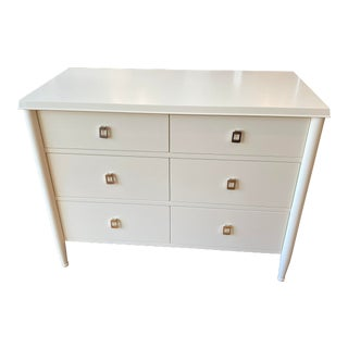 William Sonoma Home Lacourte Ivory Chest For Sale