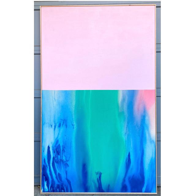 Contemporary Abstract Color Field Large Scale Original Painting by Artist Jonathan Marquis For Sale - Image 10 of 10