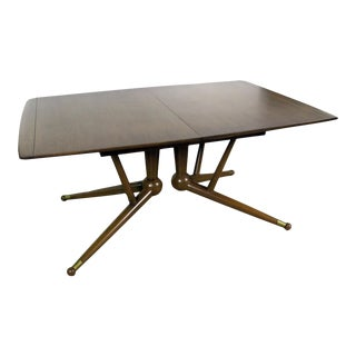 Mid-Century Modern Dining Table Attr Gio Ponti For Sale