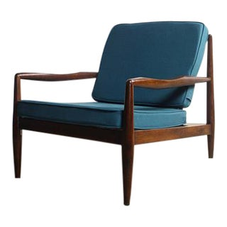 Adrian Pearsall Walnut 834-C Lounge Chair For Sale