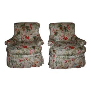 Edward Ferrell Club Chairs - A Pair