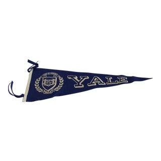 1950s Vintage Yale Pennant