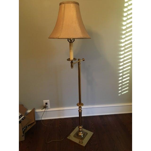 Vintage Bent Arm Floor Lamp - Image 2 of 9