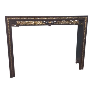 Vintage Sarreid Chinese Style Altar Table C 1900s For Sale