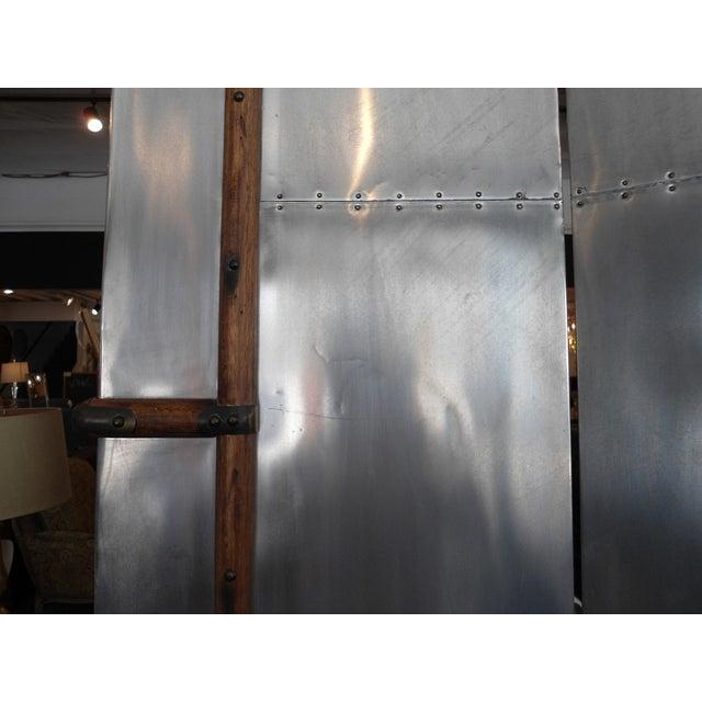 Restoration Hardware Steamer Trunk Secretary For Sale - Image 11 of 11
