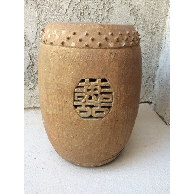 Pleasing Chinese Terracotta Garden Stool Pabps2019 Chair Design Images Pabps2019Com